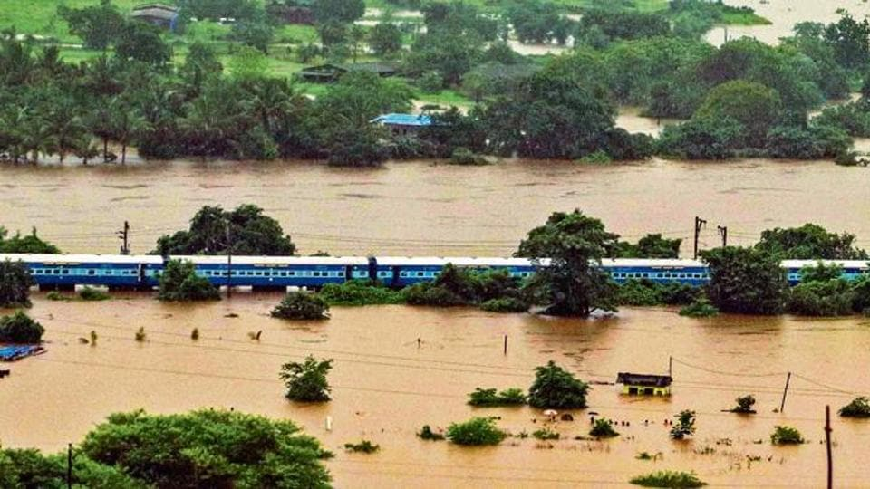 Mahalaxmi Express was first delayed when it reached Ambernath station, where the tracks were flooded, at 10pm on Friday.