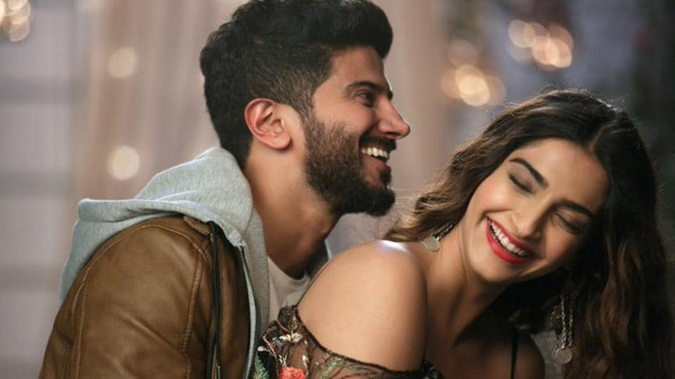 Is this picture of Dulquer Salmaan and Sonam Kapoor from The Zoya Factor?