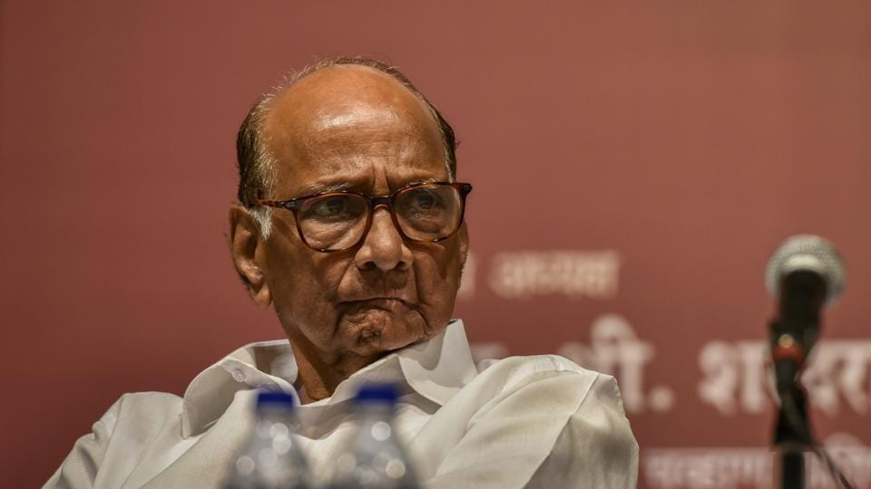 NCP president Sharad Pawar he was not worried about his party's leaders leaving.