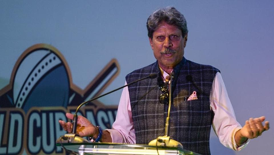 Former Indian cricketer Kapil Dev  heads the three-members of ad-hoc committee entrusted to appoint new India head coach