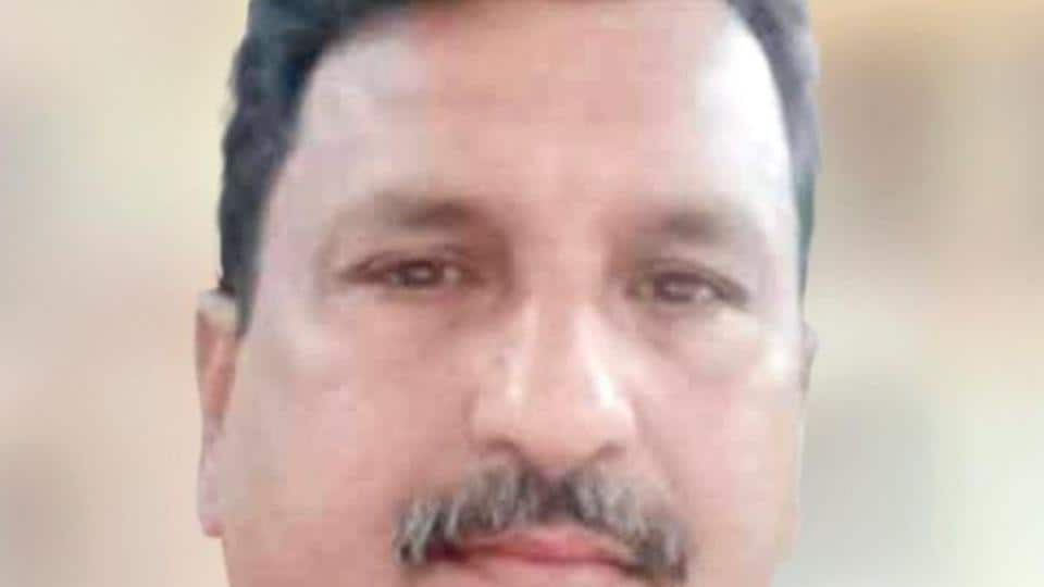 Narendra Talekar, the CR motorman, who saved the life of a youth.