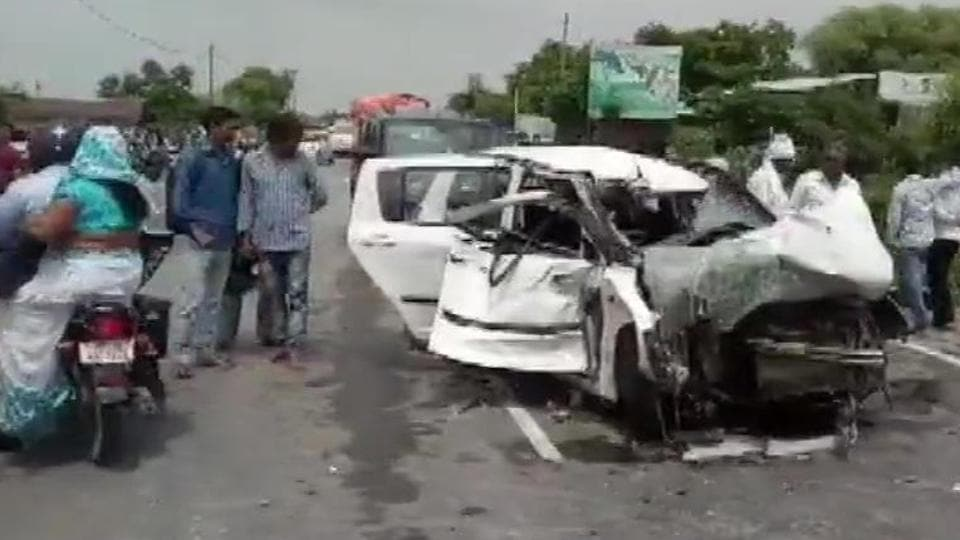 A woman from Unnao, allegedly raped by BJP egislator Kuldeep Singh Sengar, was critically injured and her two relatives killed when a truck collided head-on with their car in Rae Bareli district on Sunday