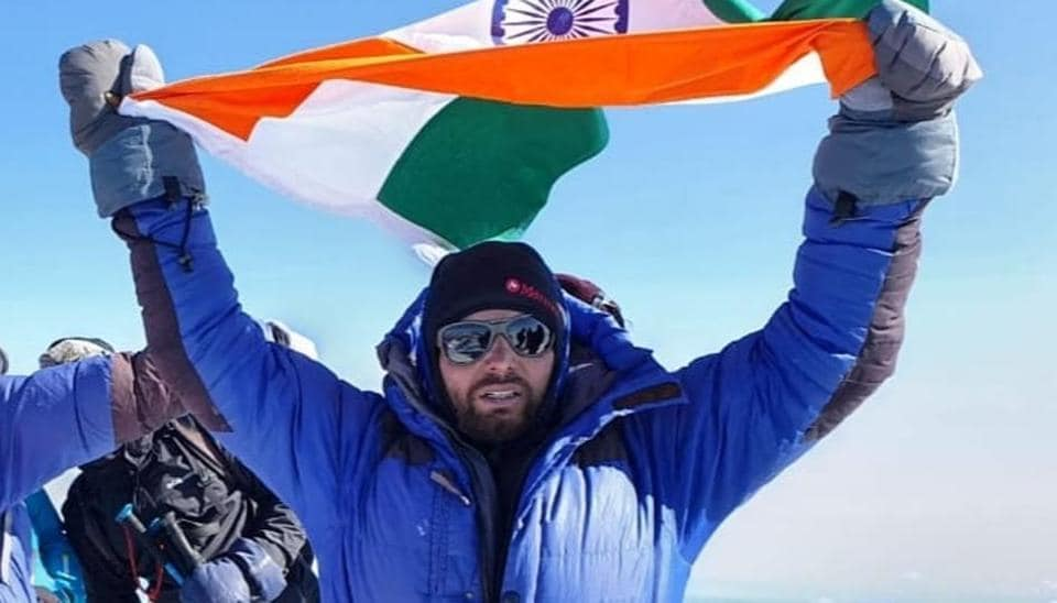 The 21-year-old Amgoth Tukaram scaled Mount Elbrus, the highest peak in the European continent and the most prominent peak in the world