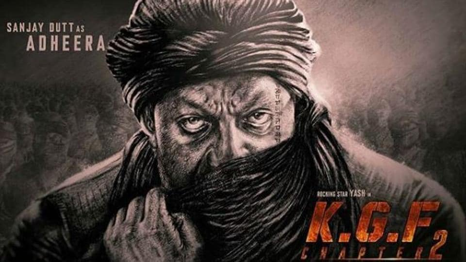 Sanjay Dutt will play the principle antagonist, named Adheera, in Yash starrer KGF Chapter 2.