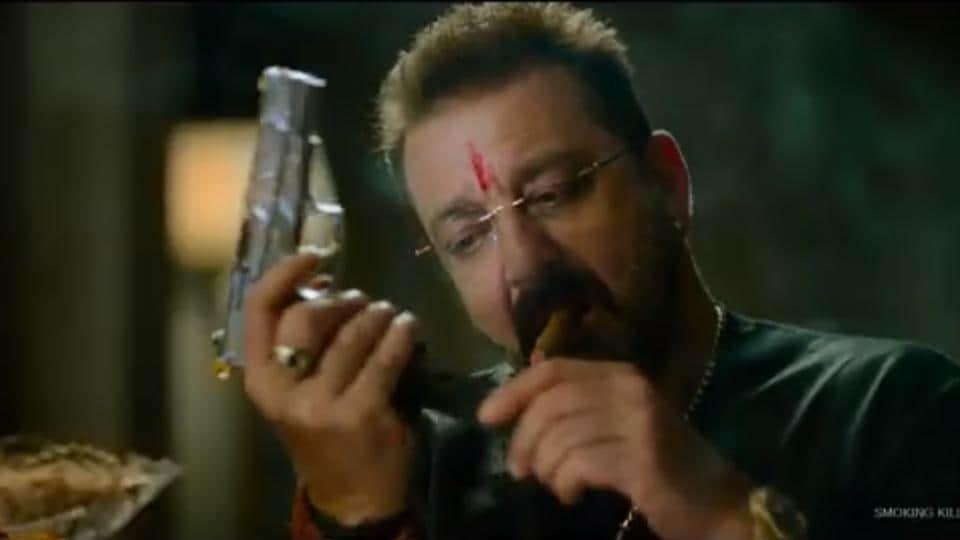 Sanjay Dutt in a still from Prasthanam teaser.