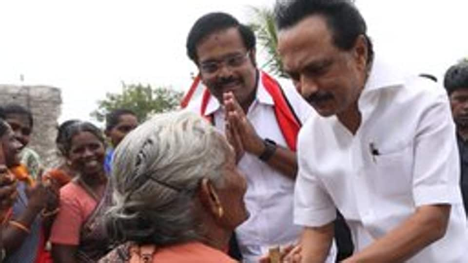 The AIADMK, which was routed in the general poll, alleged that the DMK hoodwinked the electorate with false promises, much like kids are cheated with mithai. (Photo @mkstalin)