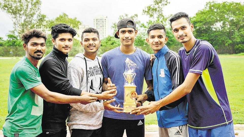 Boys from the under-20 category of Pune Athletics Club won the overall winner trophy of Pune Athletic Junior Championship at Shri Shiv Chhatrapati Sports Complex Balewadi in Pune, India, on Sunday, July 28, 2019.