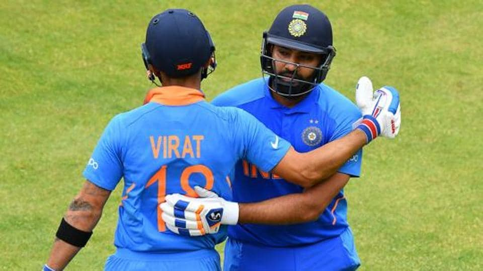File photo of Virat Kohli and Rohit Sharma.