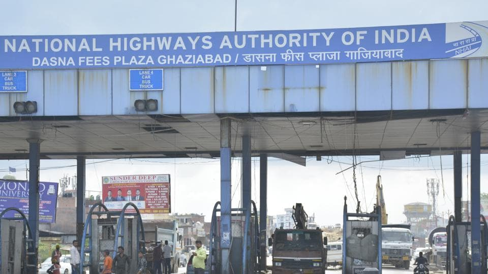 The NHAI shut down the Dasna Toll Plaza, in Ghaziabad on Sunday July 28, 2019.
