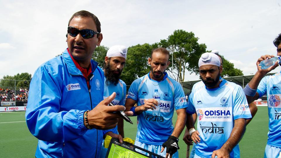 File photo of former Indian men's hockey coach Harendra Singh.