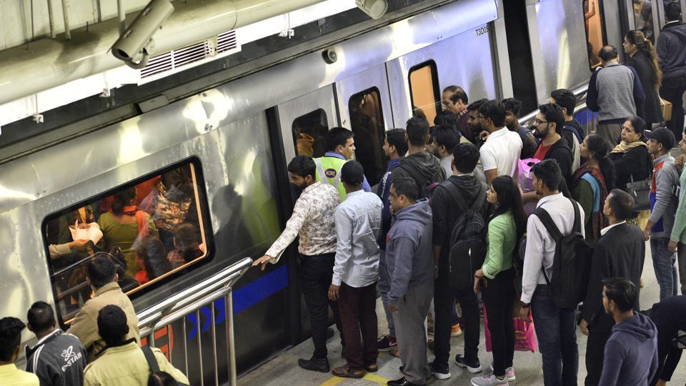 Two of Delhi Metro's lines constitute a disproportionately high majority of ridership in its entire network.
