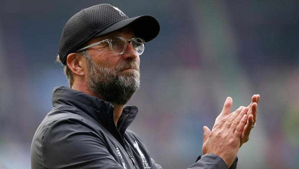 Liverpool manager Juergen Klopp after the match against Napoli.