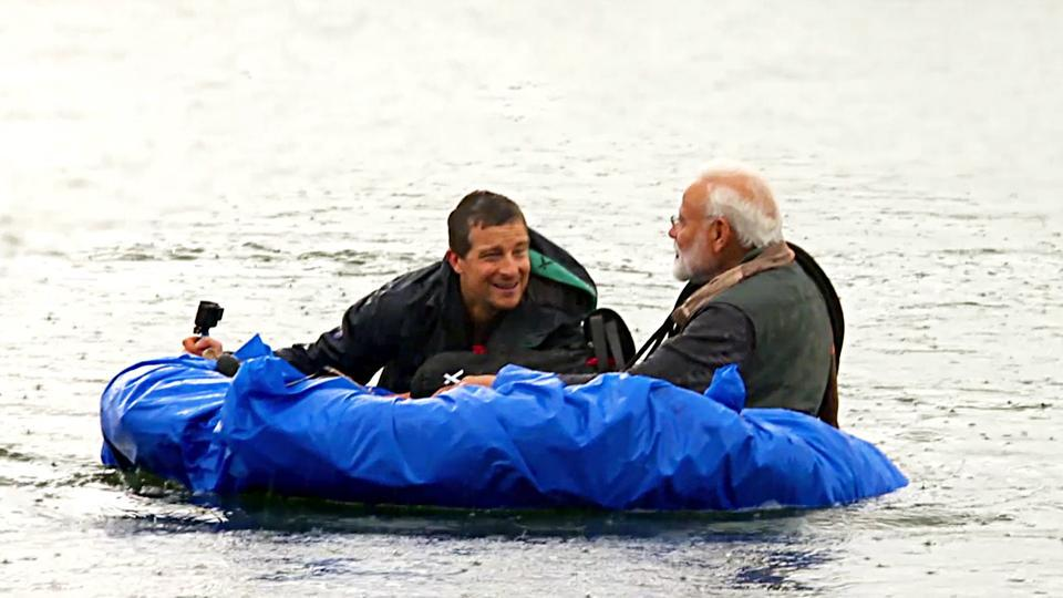 "The Congress on Monday asked Discovery channel to specify the timings of shooting its special episode of  ""Man Vs Wild"" featuring Prime Minister Narendra Modi."