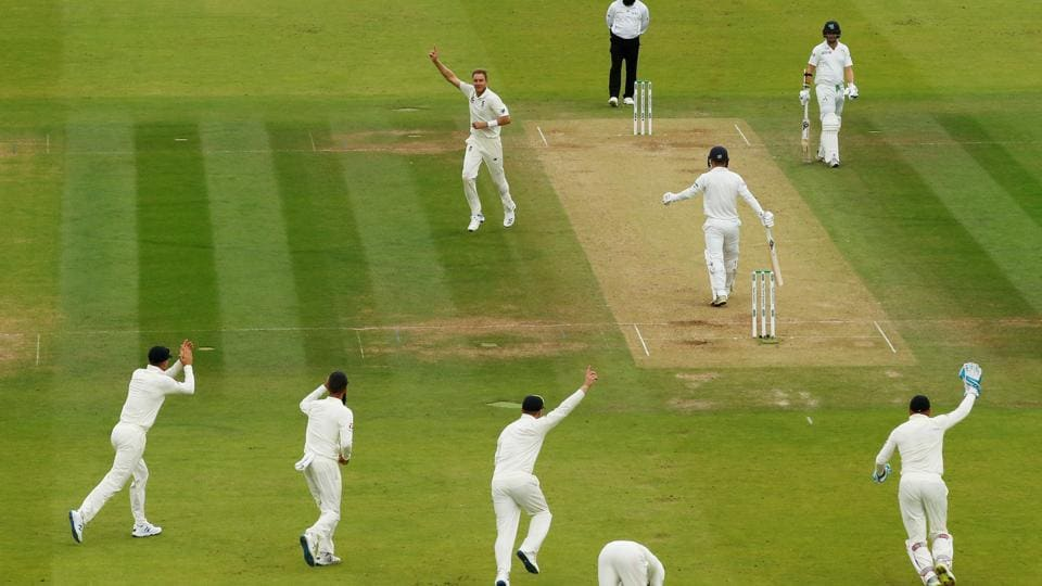 File image of a Test match being played at Lord's Cricket Ground in London.