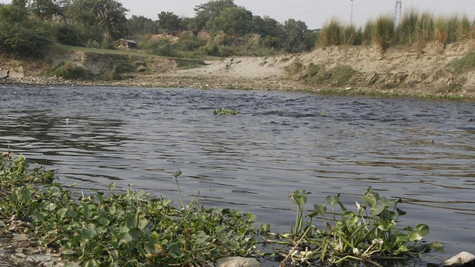 A depressed man jumped off a bridge into the Yamuna to get rid of his debt.