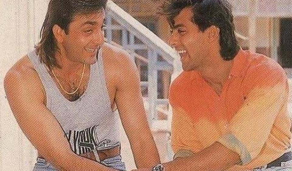 Salman Khan shared a throwback picture with dear friend Sanjay Dutt to wish him on his 60th birthday.