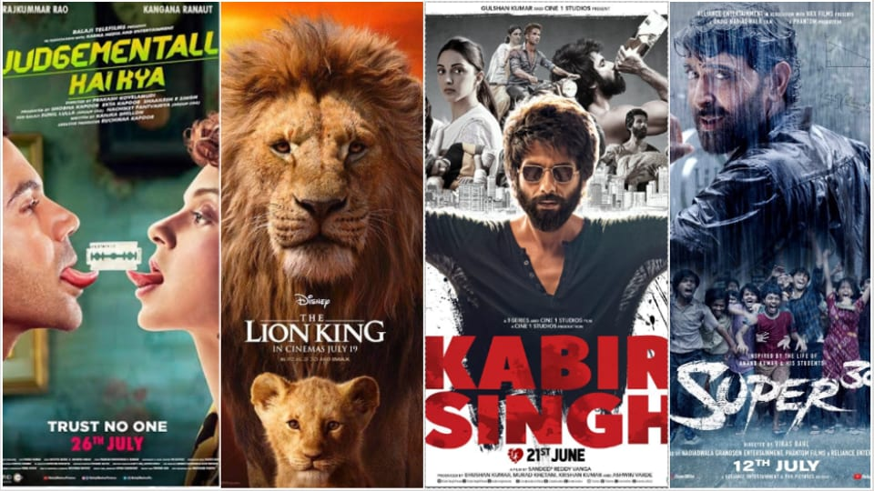July box office: Films such as Kabir Singh, The Lion King, Super 30 made it a profitable month.