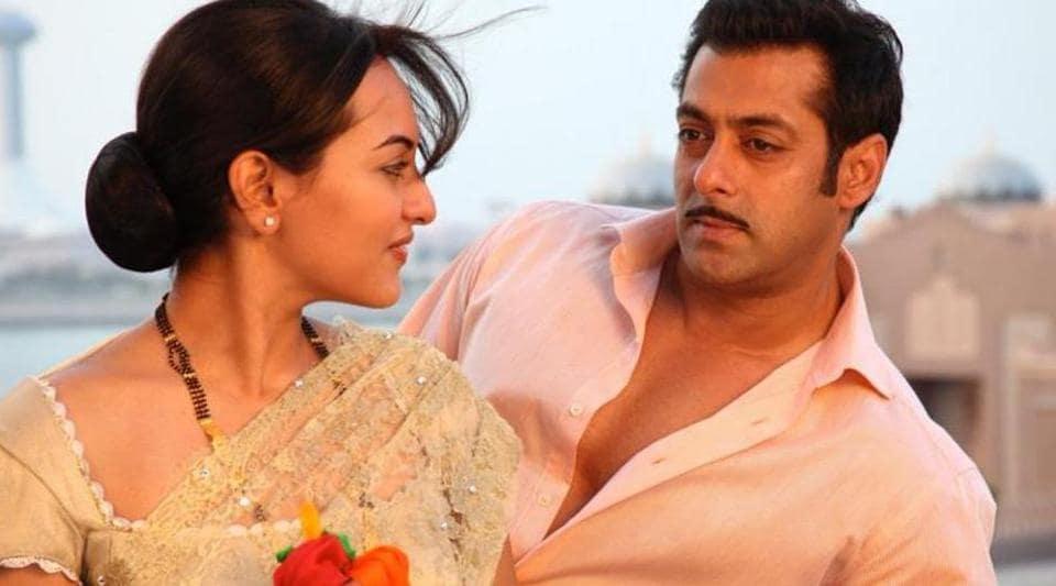Salman Khan's Dabangg franchise launched Sonakshi Sinha.