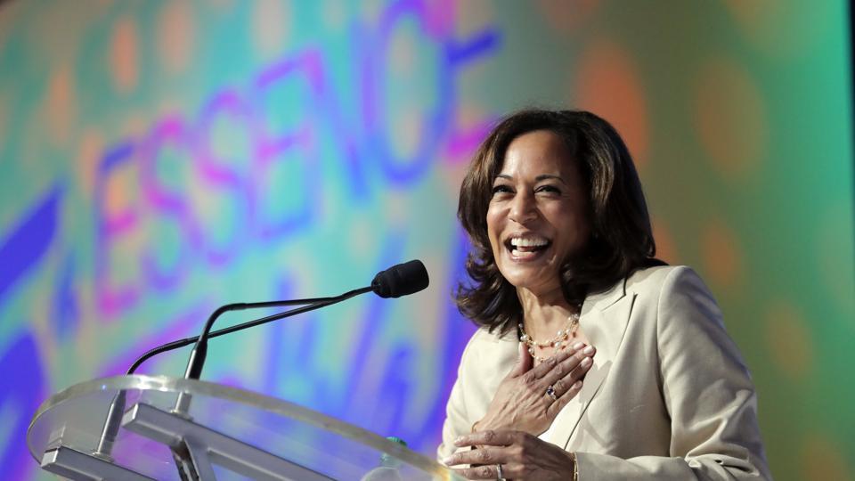 US Senator Kamala Harris is going  into the second Democratic presidential debates starting Tuesday