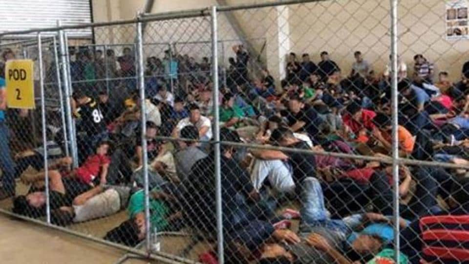 At least three men from India are reportedly on hunger strike at a detention facility for undocumented migrants in Texas demanding a review of their pleas for asylum.