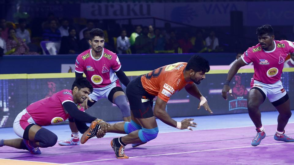 Jaipur Pink Panthers beat Haryana Steelers