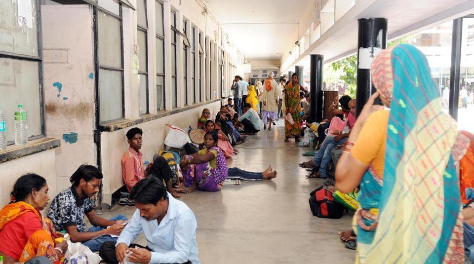 All the doctors at government hospitals will stage protests and work with black badges and black ribbons on Wednesday.