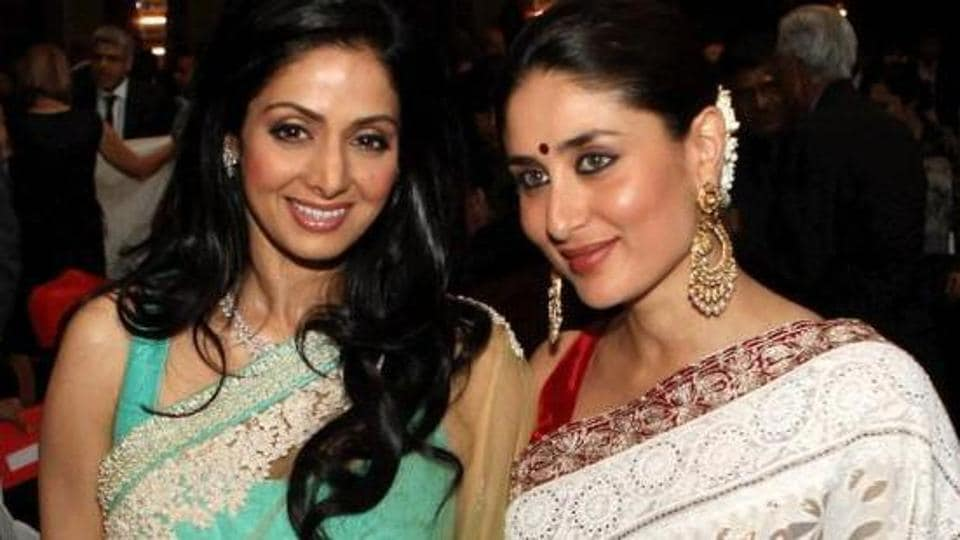 Image result for kareena kapoor and Sridevi