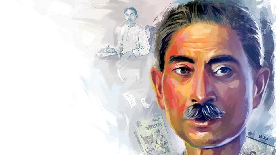 Born as Dhanpat Rai Srivastav, this great author first assumed the pen name Nawab Rai. In 1907, when one of his works was banned by the British rulers, he was prompted to change his pen name to Premchand.