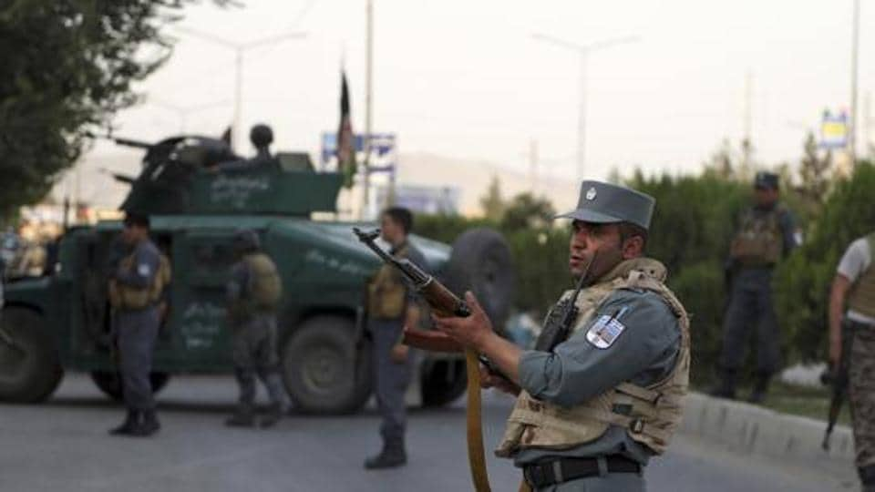 A passenger bus travelling on the Kandahar-Herat highway hit a Taliban roadside bomb.