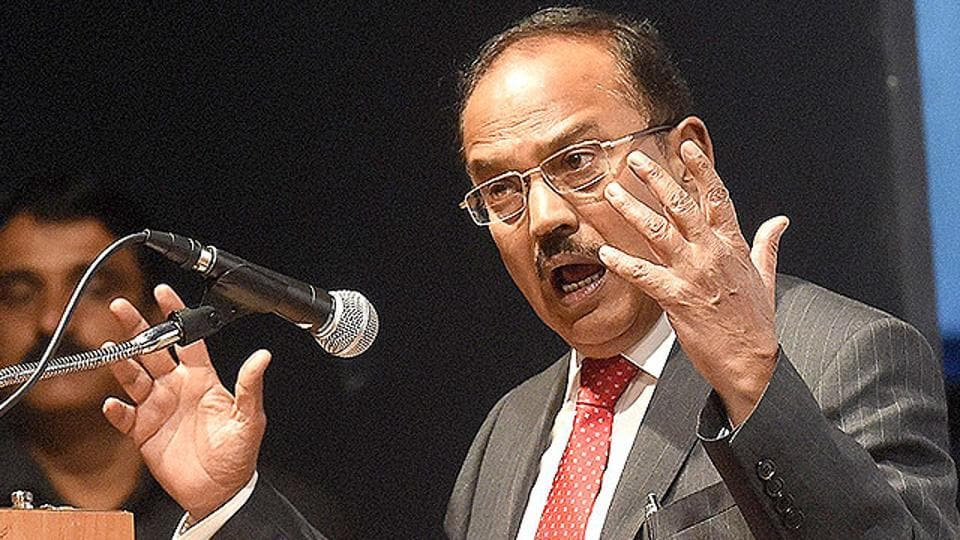 National Security Adviser, Ajit Doval, visited the state for consultations on security