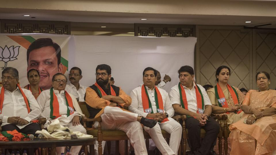 The defections, run down by the opposition as opportunistic movements, also point to its state in Maharashtra.