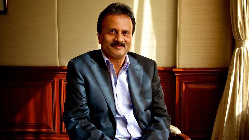 26 September 2015, New Delhi: VG Siddhartha chairman of Coffee Day Enterprises that runs Cafe Coffee Day outlets. Photo by Priyanka Parashar/Mint
