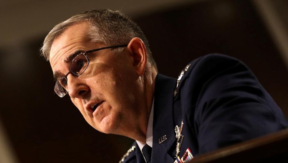 Air Force Gen. John E. Hyten.