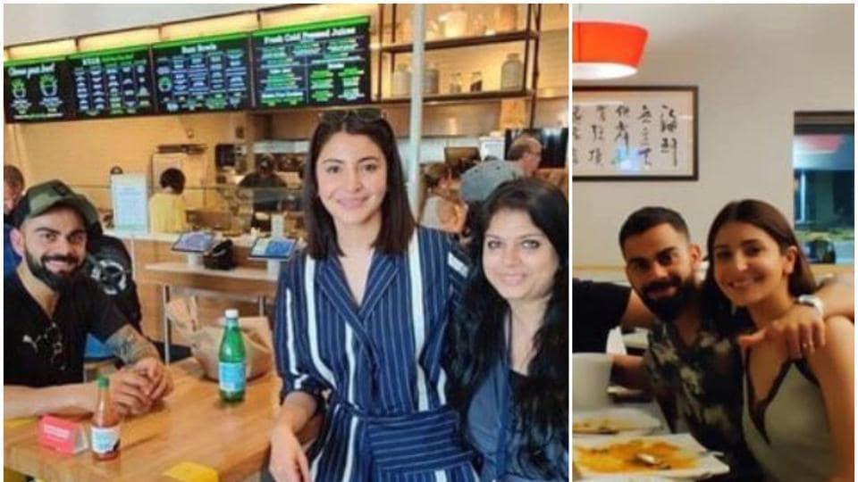 Anushka Sharma and Virat Kohli were spotted in Miami, Florida.