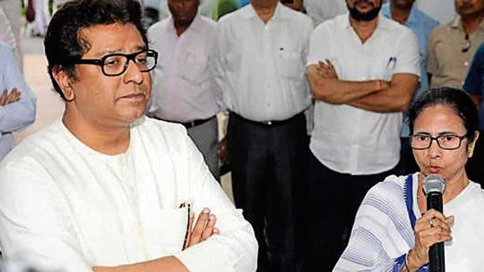 Banerjee also supported Thackeray, saying even she was against EVMs.