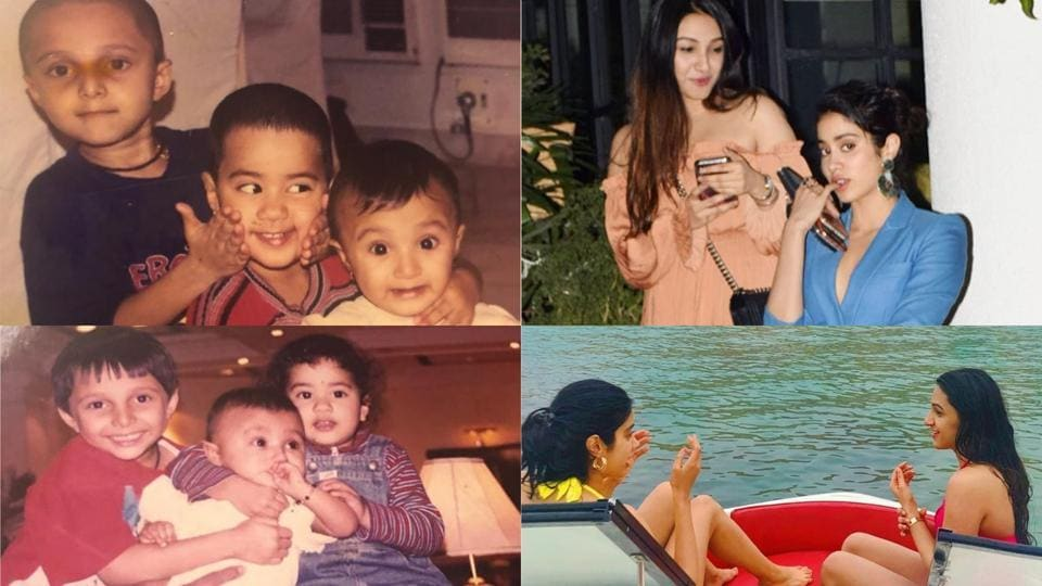 Janhvi Kapoor shared several throwback pictures with her best friend Tanisha.