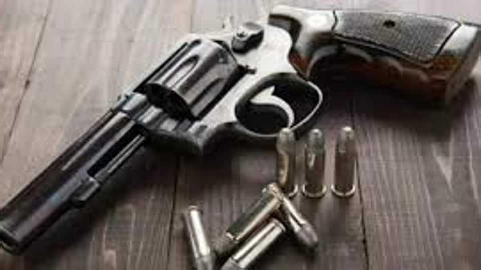Two countrymade guns and two live ammunitions were confiscated by the police from Saini in Gurugram.