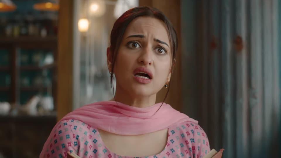 Khandaani Shafakhana movie review: Sonakshi Sinha as Baby Bedi in the film.