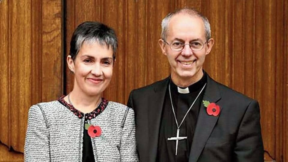 Archbishop of Canterbury Justin Welby will be accompanied by his wife Caroline on his India visit.