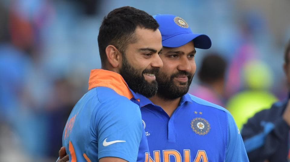 File image of India skipper Virat Kohli and Rohit Sharma.
