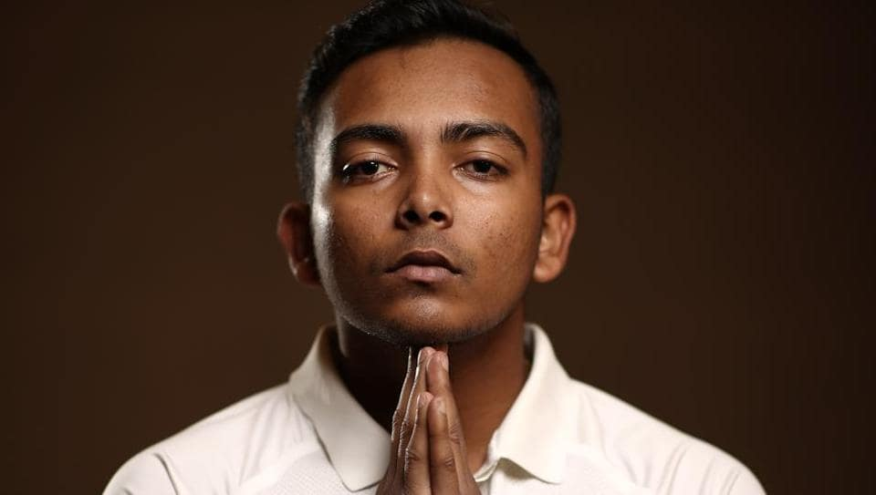 File image of Prithvi Shaw