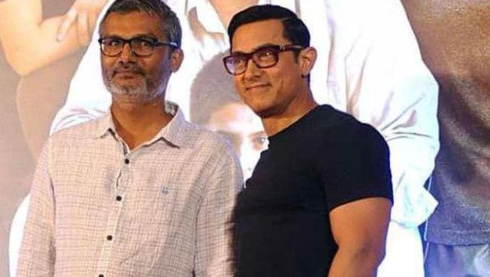 Aamirt Khan and Nitesh Tiwari met in Delhi recently.