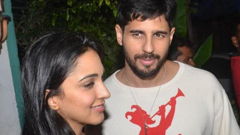 Sidharth Malhotra and Kiara Advani have been rumoured to be dating.