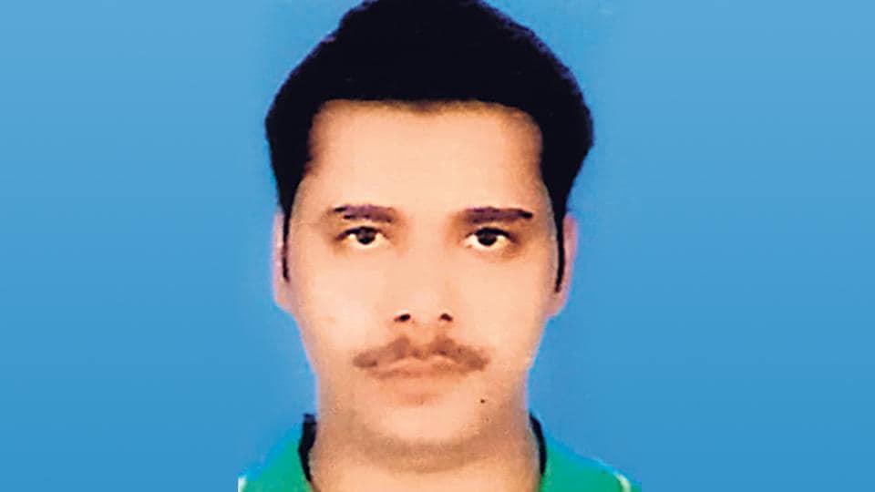 Jay Prakash , a history sheeter, arrested by Gurugram police.