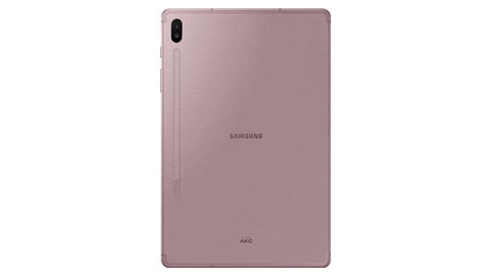 Samsung Galaxy Tab S6 is official.