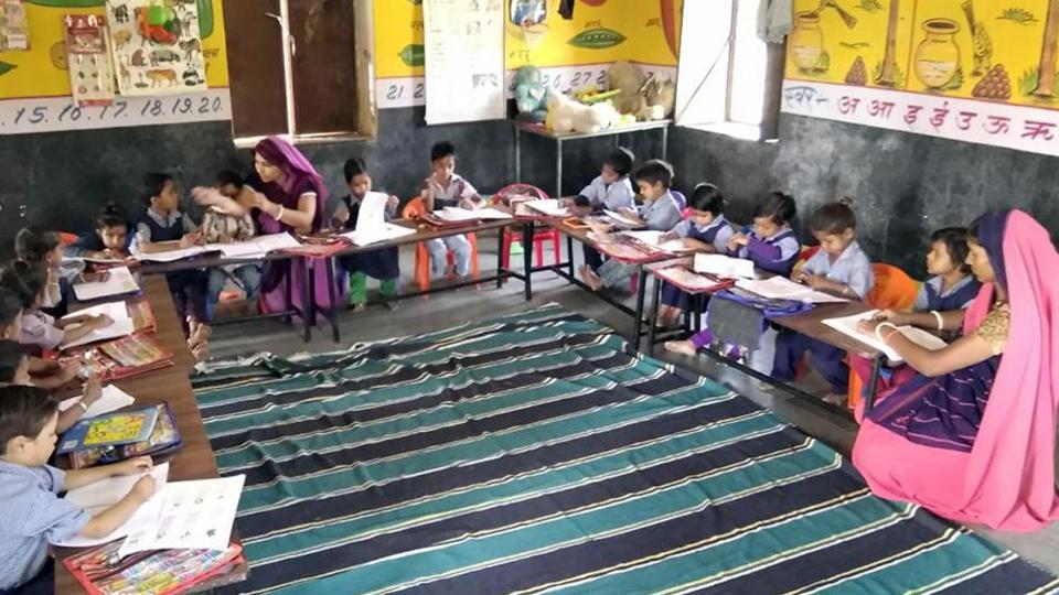 It has been decided that all children below the age of five would be enrolled at Anganwadi centres within three months besides ensuring availability of ration cards for the affected families.