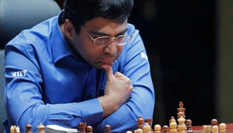 File photo of Viswanathan Anand.