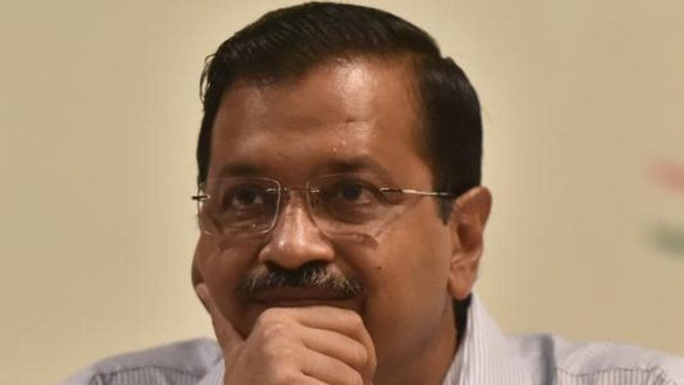 Delhi chief minister Arvind Kejriwal's office has received two e-mails from an anonymous e-mail ID, allegedly threatening to kill him.