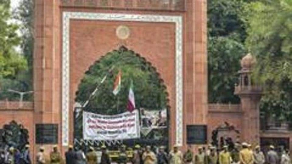 Uneasy calm prevailed on the Aligarh Muslim University (AMU) campus on Friday a day after four student leaders were arrested for allegedly creating unrest on the campus.