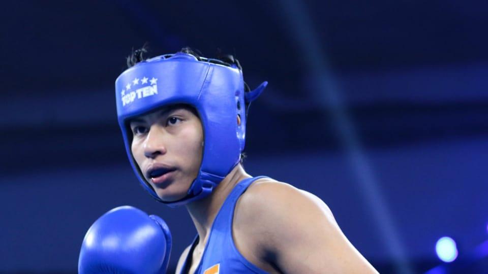 Lovlina Borgohain won the gold medal.